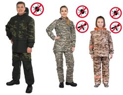 Защитный костюм против клещей